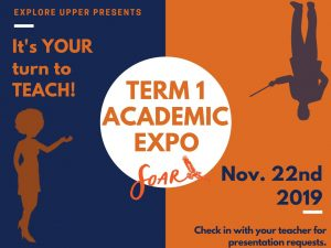 US Term 1 - Academic Expo @ Explore Charter School
